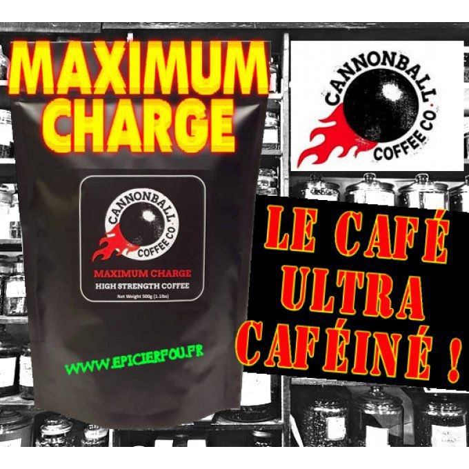 -EN GRAINS- Café Ultra Caféiné Maximum Charge