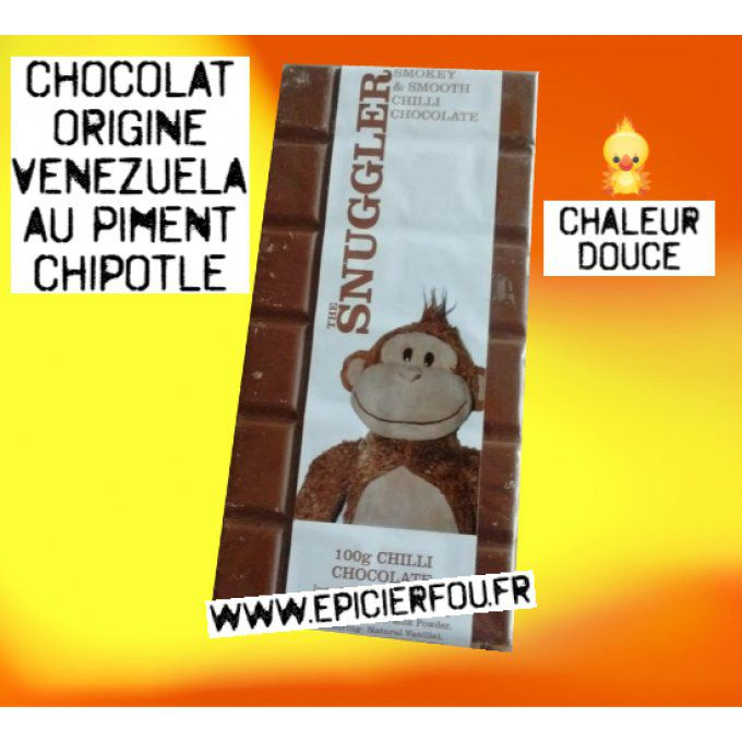 chocolat au lait piment Chipotle the snuggler