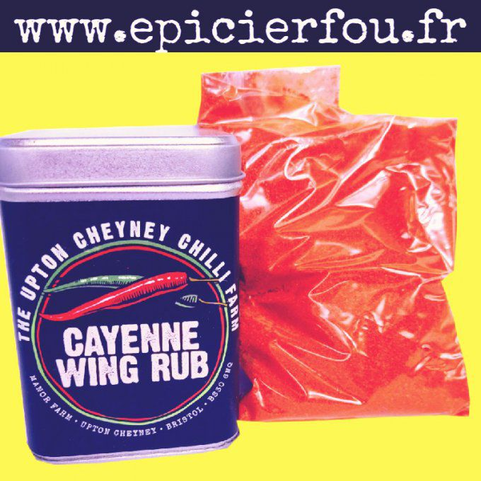 Epices marinade BBQ Cayenne Wing Rub