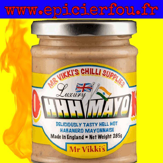 Mayonnaise piment Habanero