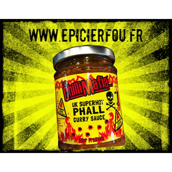sauce curry recette phall très forte