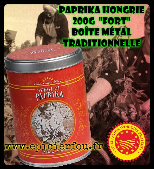 Authentique Szegedi paprika 200g FORT