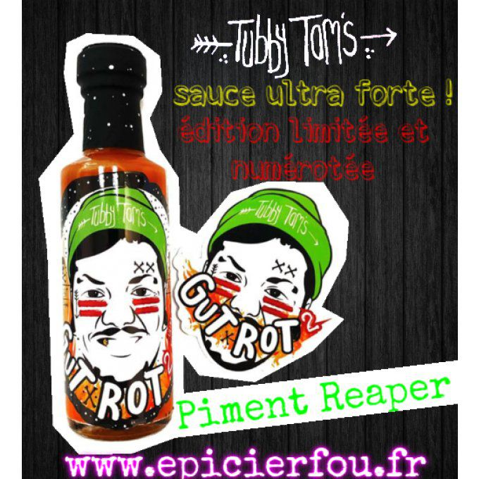 Sauce piquante Ultra Forte GUT ROT
