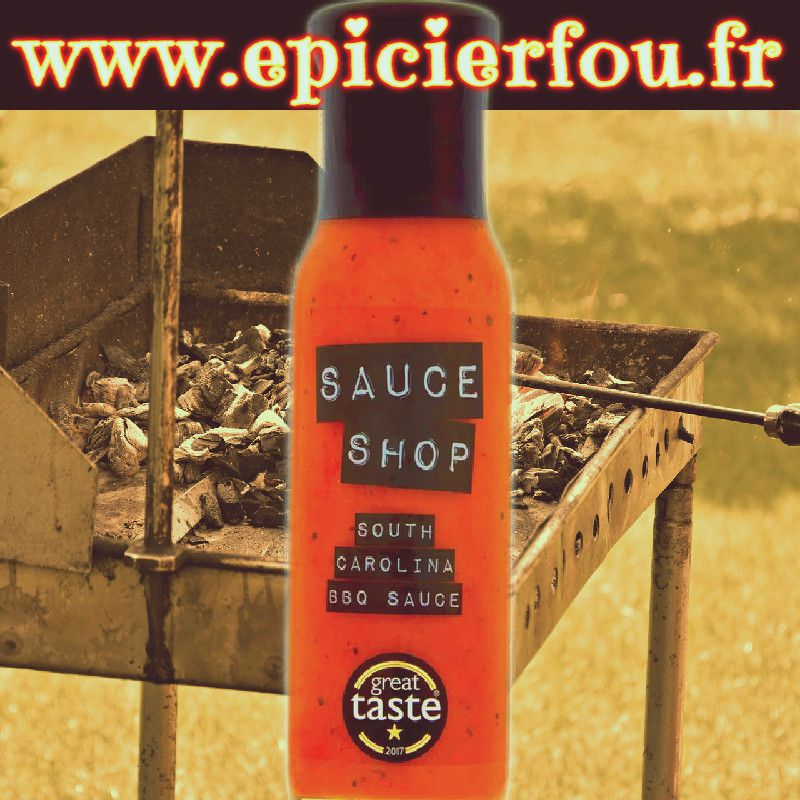 South Carolina Sauce BBQ Moutarde Ail Epices
